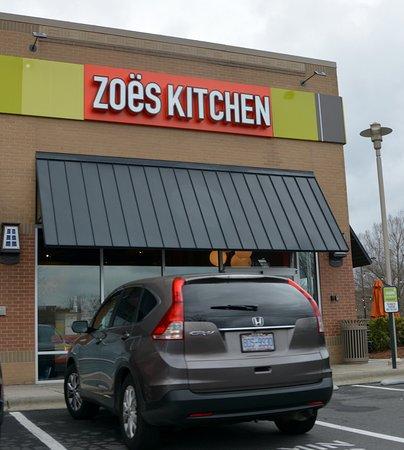 Zoes Kitchen Charlotte Mediterranean  14145 Rivergate