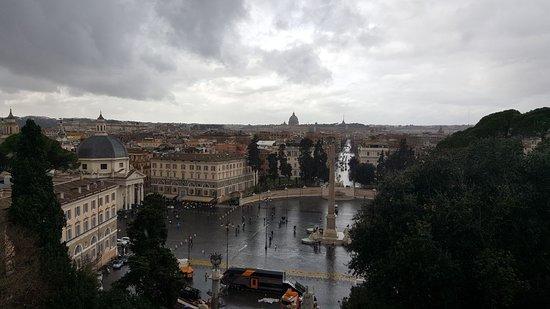 Panorama dalla Terrazza del Pincio  Foto di Terrazza del