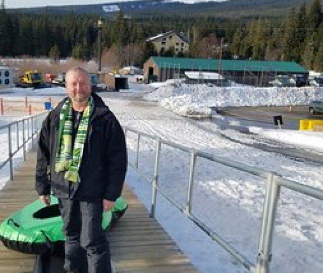Mt Hood Ski Bowl On The Belt With Tube