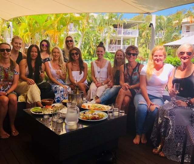 The Noosa Spa Wow Girls Day Out Hens We Love The Vibes Of Large Numbers