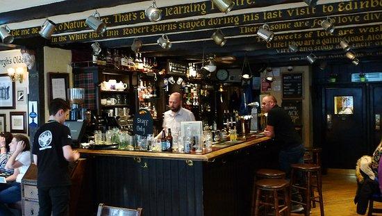 The White Hart Inn Restaurant Edinburgh