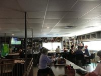 Upstairs bar area and dining. - Picture of The Sandbar ...