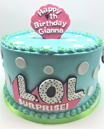 Lol Girls Birthday Cake By Flavor Cupcakery Picture Of Flavor