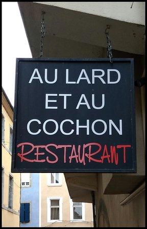 Au Lard Et Au Cochon : cochon, Heresis, Picture, Cochon,, Carcassonne, Tripadvisor