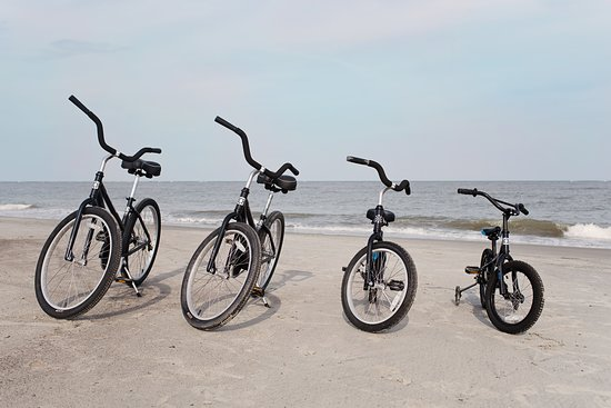beach chair rental isle of palms adirondack and ottoman set bike rentals on wild dunes picture company