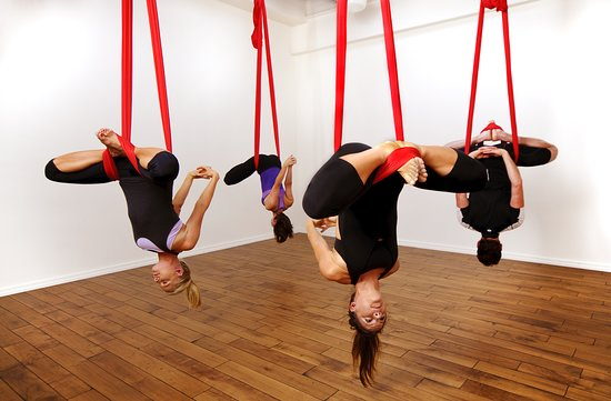 antigravity yoga picture of