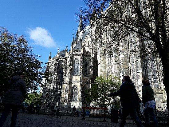 aachen cathedral dom magnifique visite en novembre 2017
