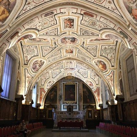Resultado de imagen de sacristía Vasari santa ana dei lombardi