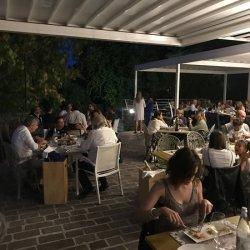 Modern interior and fancy food Picture of Miralago Padenghe sul Garda Tripadvisor