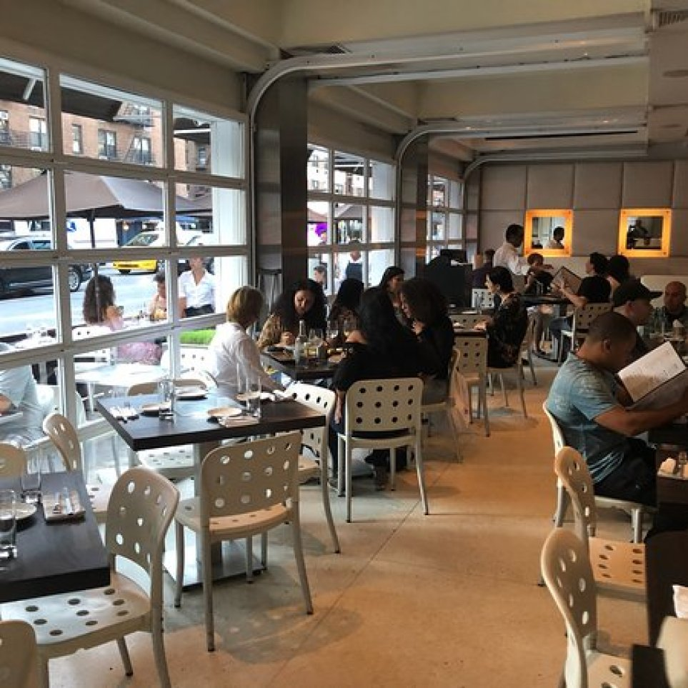 Outside by night - Picture of cafeteria, New York City - Tripadvisor