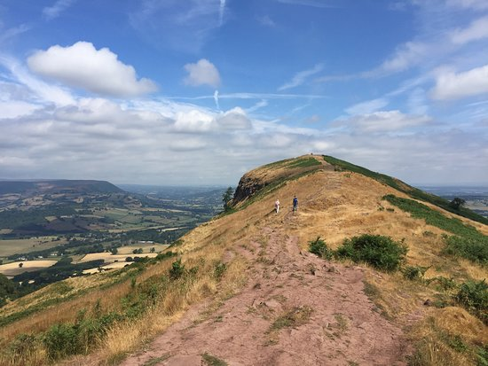 This is taken about half way up Skirrid. you either go on up. or walk around the mountain. - Picture of The Skirrid. Abergavenny - Tripadvisor