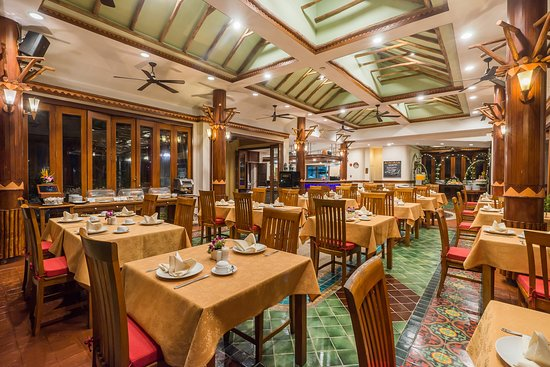 C Front Restaurant Picture Of Chaba Cabana Beach Resort