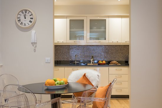 One Bedroom Apartment Kitchen And Dining Table Picture Of Jameson Court Apartments Galway Tripadvisor