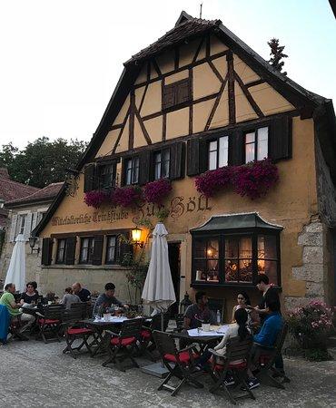 Zur Hll Rothenburg Restaurant Bewertungen