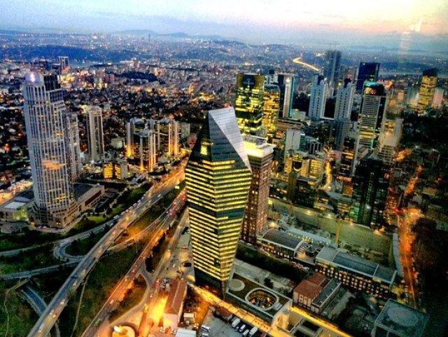 City lights - Изображение Istanbul Sapphire, Стамбул - Tripadvisor