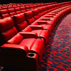 Movie Theaters With Lounge Chairs Swing Chair Hanging From Ceiling Reclining Sun Surf Cinema Ocean City Traveller