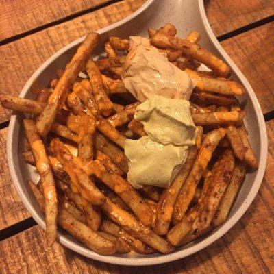cheesy fries - Picture of AMA Cafe, New Delhi - Tripadvisor