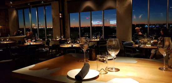 Sunset From The Third Floor Picture Of Craft Vine Taproom Eatery Roanoke Tripadvisor