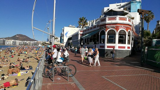 Casa Roja Las Canteras Las Palmas de Gran Canaria  Fotos