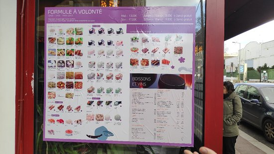 all you can eat menu page 2 photo de