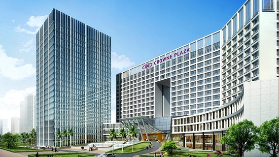 Ruangan Luas Sangat Tenang Ulasan Crowne Plaza Shenzhen