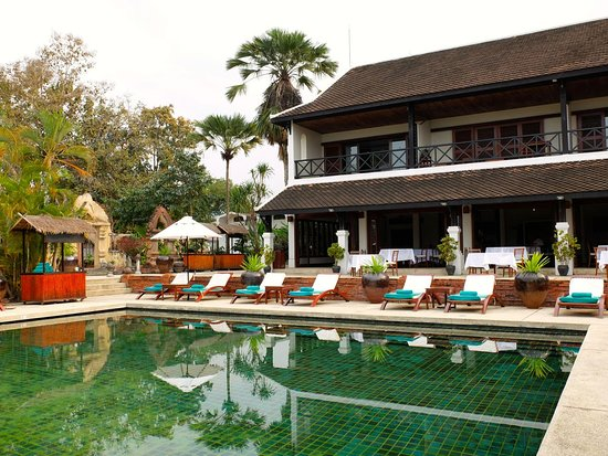 Pool And Restaurant Picture Of Belmond La Residence Phou
