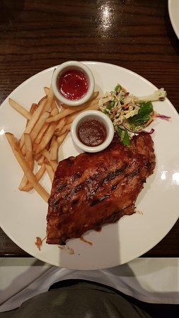 half rack of ribs picture of the keg