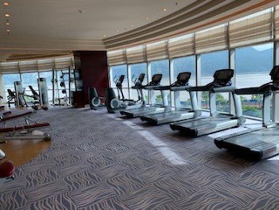 Gym Picture Of Shangri La Hotel Wenzhou Tripadvisor