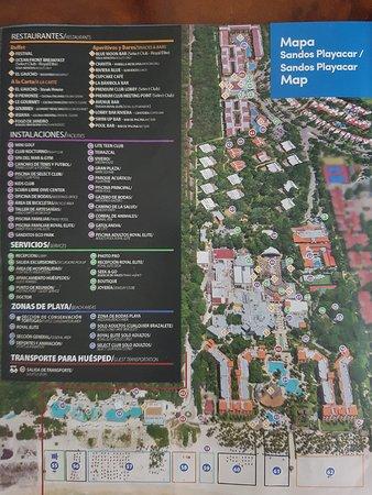 Sandos Caracol Eco Resort Map : sandos, caracol, resort, Resort, Picture, Sandos, Playacar,, Playa, Carmen, Tripadvisor