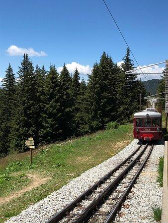 Tramway Du Mont-blanc : tramway, mont-blanc, Approche, Picture, Tramway, Mont-Blanc,, Saint-Gervais-les-Bains, Tripadvisor