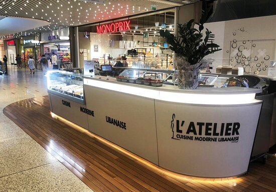 l atelier cuisine moderne libanaise st