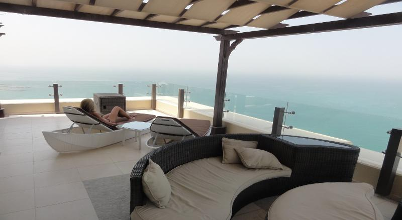 terrace with breathtaking view
