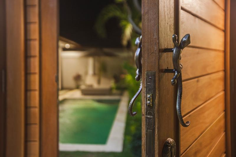 Bamboo 1 Bed Room Two Lizards Villa Has Air Conditioning And
