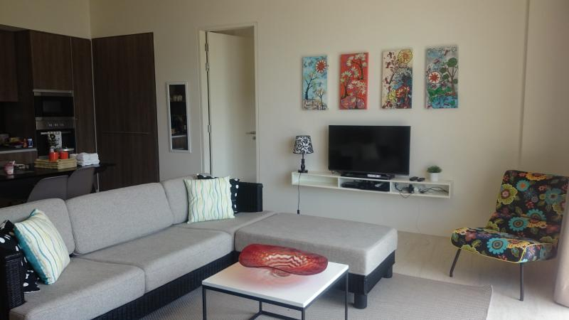 tropical living room in malaysia funky mirrors 108 by the sea batu ferringhi penang has shared yard and ocean with big wide rattan sofa cable tv wifi