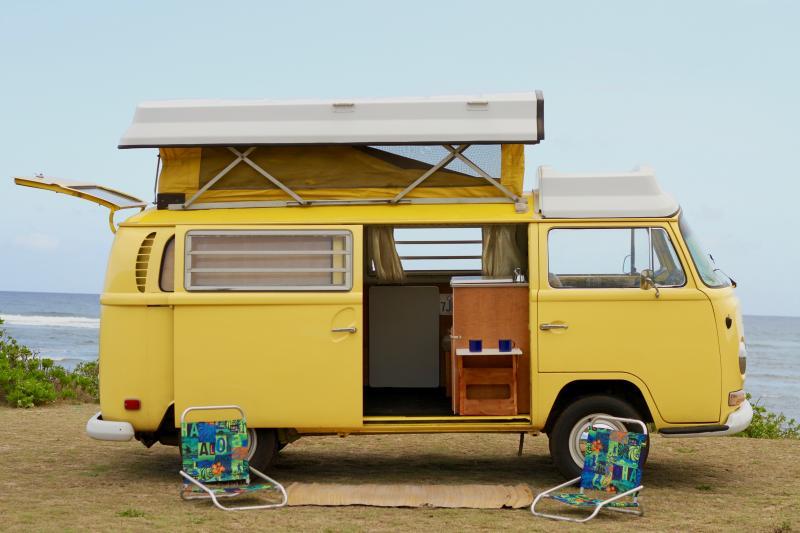 Old School Surf Camper Van Has Housekeeping Included Updated 2020 Tripadvisor Haleiwa Vacation Rental