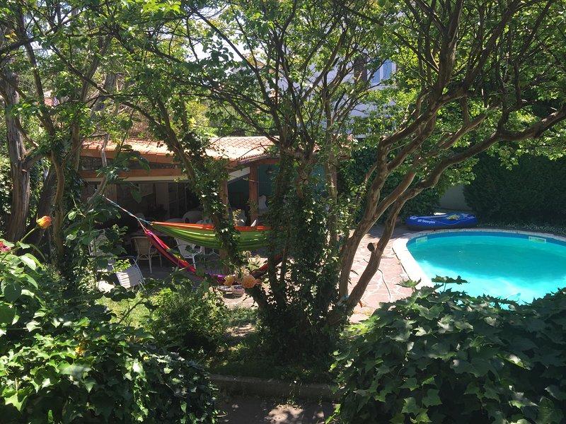 Apartamento con porche y piscina en Villa de 1905 Hendaya