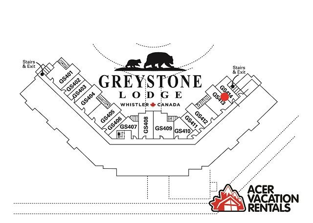 Greystone Lodge Largest Renovated 2 Bedroom + Loft W/D A/C