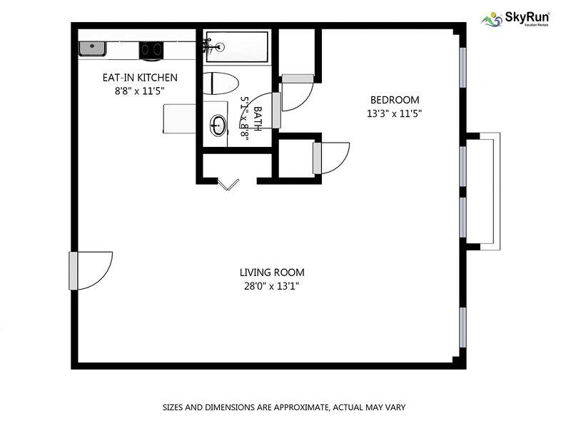 Plaza del Sol UPDATED 2019: 1 Bedroom House Rental in