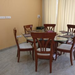 Kitchen For Rent Pendant Lighting Updated 2019 One Bhk Serviced Apartment Sa2 With Modular Lobby Dining Table