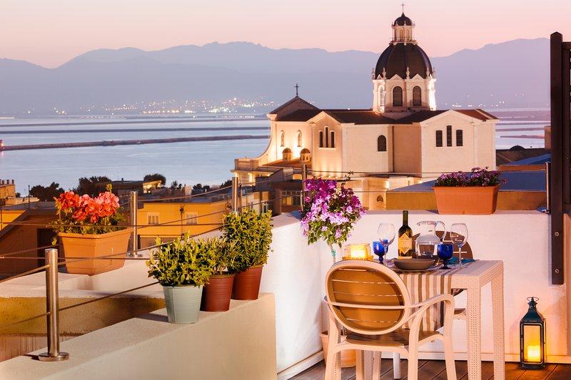 La Terrazza di Olimpia Has Terrace and Washer  UPDATED 2019  TripAdvisor  Cagliari Vacation