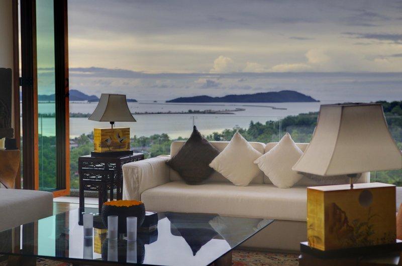 tropical living room in malaysia decor with hardwood floors island paradise tripadvisor holiday rental kuala teriang lounge overlooking the sea and islands surrounding langkawi