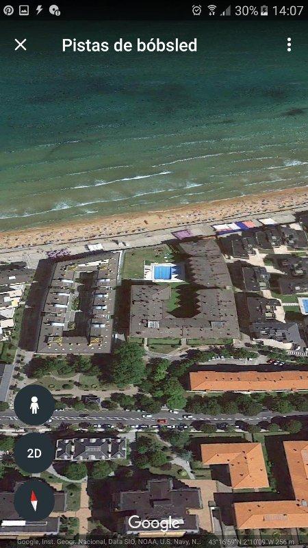 Urbanizacin en primerisma linea de playa Centro