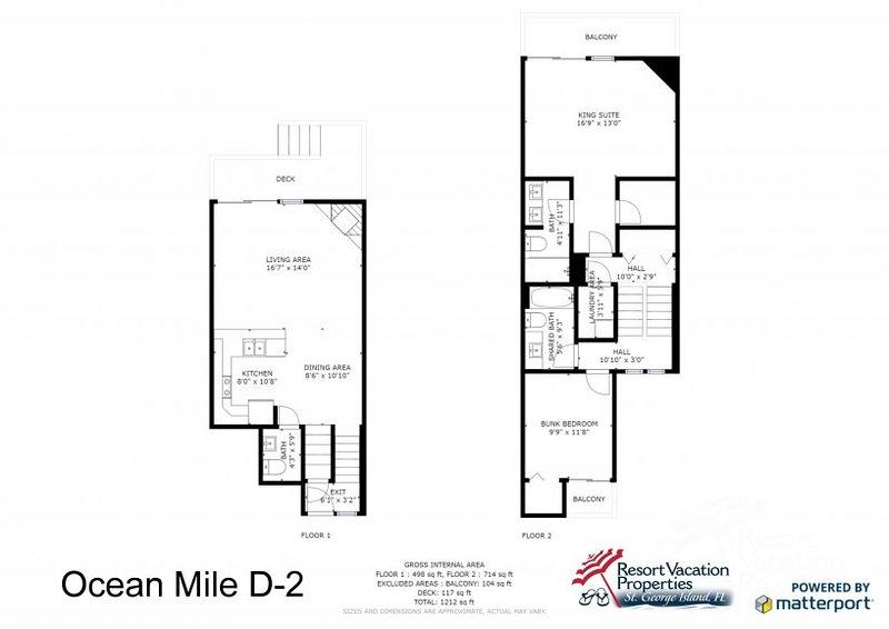 Ocean Mile D-2 UPDATED 2019: 2 Bedroom House Rental in St