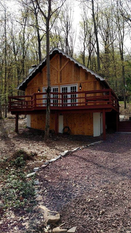 Poconos House Rentals With Pool : poconos, house, rentals, Peaceful, Review, Poconos, Cabin, Vacation, Rentals,, White, Haven,, Tripadvisor