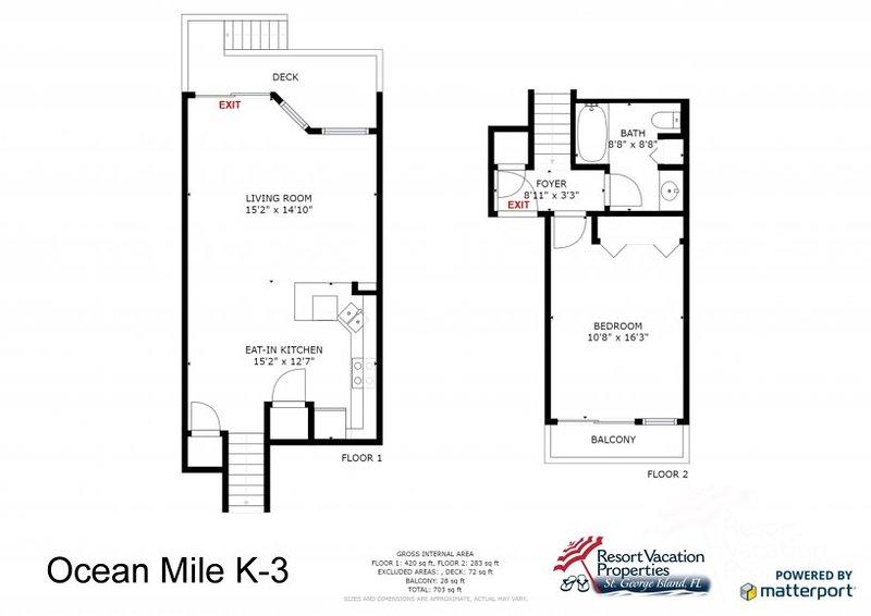 Ocean Mile K-3 UPDATED 2019: 1 Bedroom House Rental in