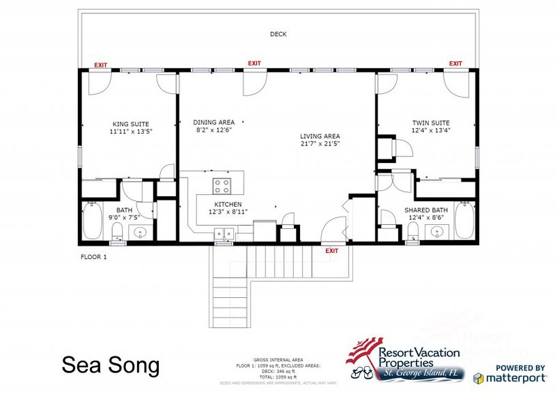 Sea Song UPDATED 2019: 2 Bedroom House Rental in St
