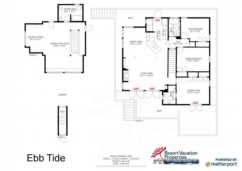 Ebb Tide UPDATED 2019: 4 Bedroom House Rental in St