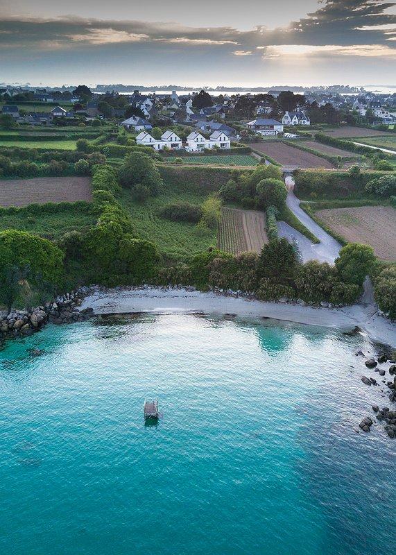 AKTUALISIERT 2019  Villas Ewa Roscoff vue mer avec