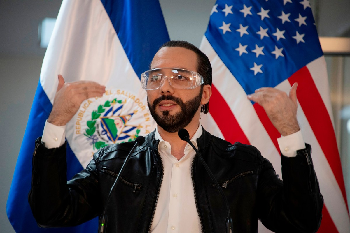 Biden officials turn down unannounced visit with El Salvador Pres. Nayib  Bukele