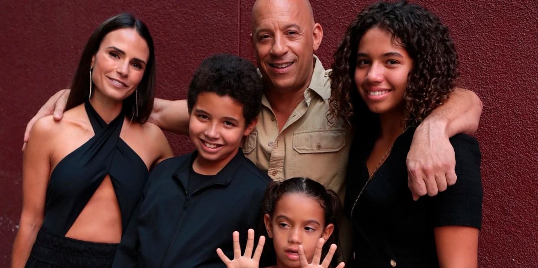 photo Vin Diesel Family fast furious stars at f9 screening